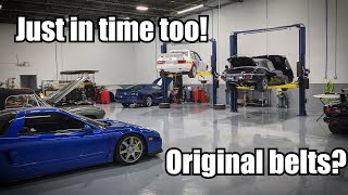 I Finally Did the 100k mile NSX Service by Super Speeders