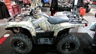 6. 2013 Yamaha Grizzly 550FI DAE Multi Purpose ATV - 2012 Salon National du Quad