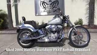 7. Used 2006 Harley Davidson Softail Standard for sale in Tampa Fl