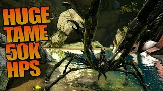 HUGE TAME 50K HPS | ARK: Aberration | Let's Play ARK Aberration Gameplay | S01E17