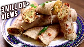 Veg Frankie | Homemade Frankie Recipe | The Bombay Chef - Varun Inamdar