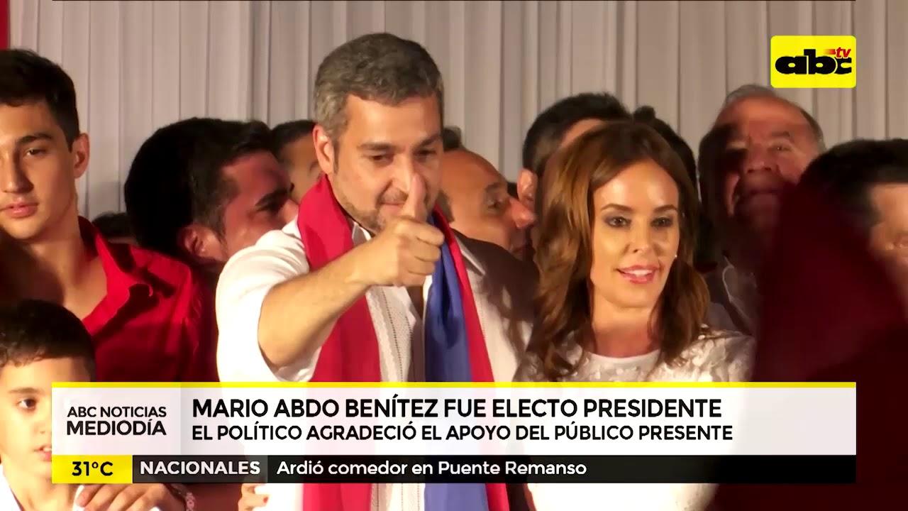 Mario Abdo gana Elecciones Generales