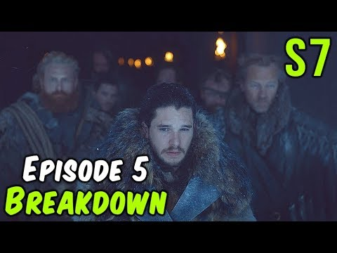 Season 7 Episode 5 Breakdown! (Game of Thrones)