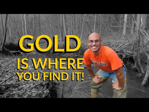 GOLD is where you FIND IT!
