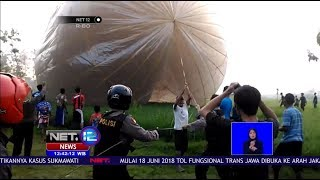 Video Polisi & TNI Sita 43 Balon Raksasa Dan Petasan  -NET12 MP3, 3GP, MP4, WEBM, AVI, FLV Juni 2018