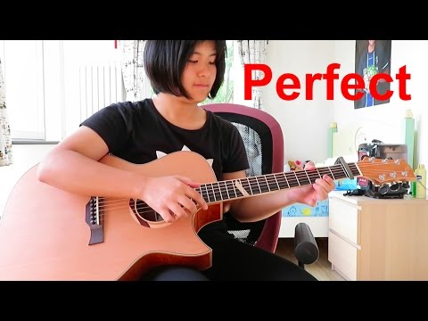Perfect - Ed Sheeran (fingerstyle Guitar Cover) Free Tabs