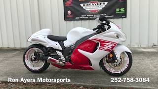 10. 2018 Custom Suzuki Hayabusa - Full Brock's Performance package