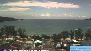 Patong Tower, Phuket - Daily Time Lapse, Saturday August 15
