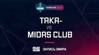 Team Taka- vs Midas.Y, ESL One Hamburg 2017, game 1 [Mortales]