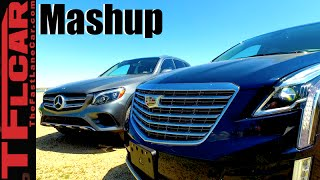 2017 Cadillac XT5 vs. Mercedes-Benz GLC300 Mashup Review: And the Winner is... by The Fast Lane Car