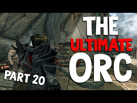 How to play an Orc Tank on Legendary Skyrim - Part 20   Companions Finale Next