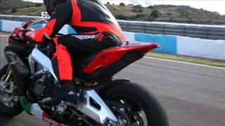 2. RawCut: 2011 Aprilia RSV4 Factory APRC SE. Unedited action and beauty shots