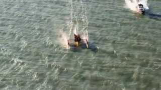 K2 Kitefoiler in San Francisco Bay, 2013 - YouTube