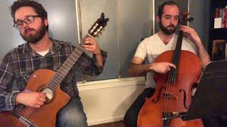 Bach - Air on the G String for Cello and Guitar