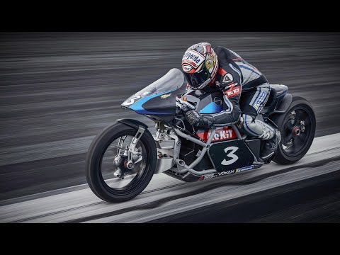 Voxan Wattman, the world's fastest electric motorcycle