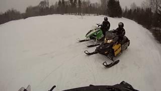 3. Ski Doo MXZ 600 Sport Carb