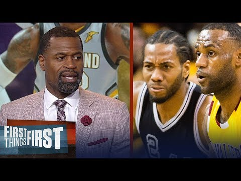 Stephen Jackson on why LeBron's Hollywood ending is with Spurs not Lakers   NBA   FIRST THINGS FIRST