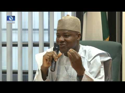 The Gavel: Lawmaker Gives Reasons For Suing Buhari Over Bailout Decision --  18/07/15 Pt 1
