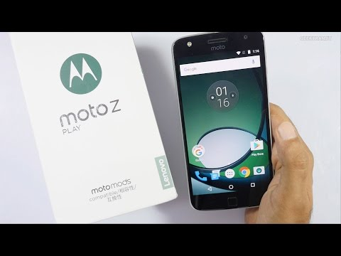 Moto Z Play Unboxing & Overview (Indian Unit)
