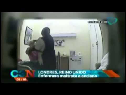 Enfermera golpea a una anciana en Londres