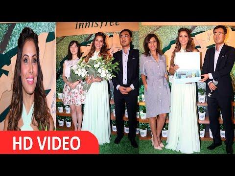 Bipasha Basu At Store Launch Of Korean Naturalism Beauty Brand Innisfree