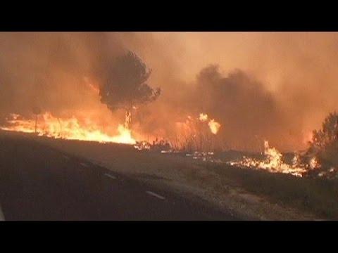 Ισπανία-Γαλλία: Αντιμέτωπες με μεγάλες δασικές πυρκαγιές οι αρχές