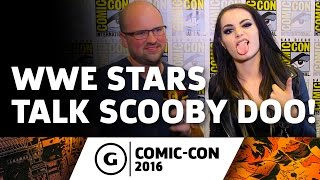 WWE's Sheamus and Paige Talk Scooby-Doo! and WWE: Curse of the Speed Demon