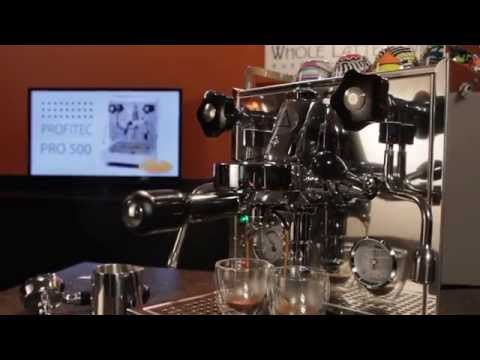 Profitec Pro 500 Espresso Machine Overview