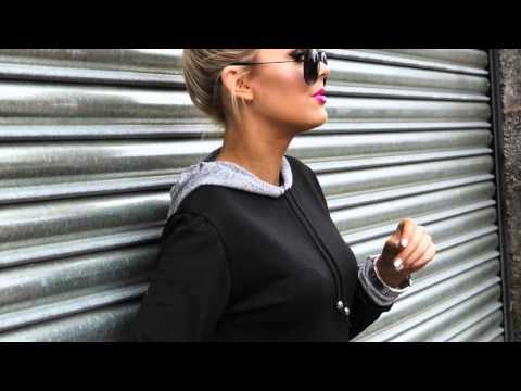 TREND ALERT! Fashionable womens tracksuit