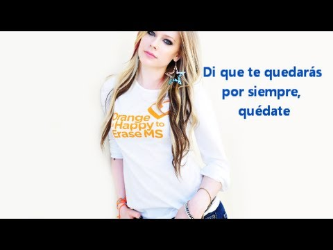 Here's To Never Growing Up- Avril Lavinge (sub.  Español)