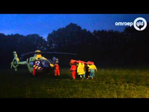 Zwaargewonde ongeval Zelhemseweg Hummelo