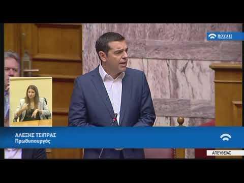 Oμιλία στη Συζήτηση για τη Συμφωνία Δημοσιονομικών Στόχων και Διαρθρωτικών Μεταρρυθμίσεων