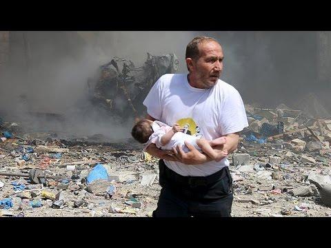 Syrie : au moins 37 morts dans des bombardements aux barils d'explosifs