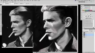 David Bowie Time Lapse Video