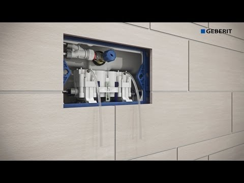 Geberit Sigma70 and Hydraulic Servo Lifter installation