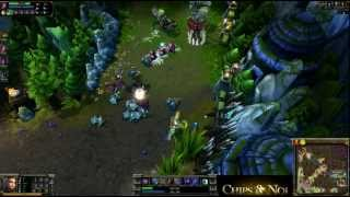 (HD166) Na'Vi vs Absolut Legends - League Of Legends Replay [FR]