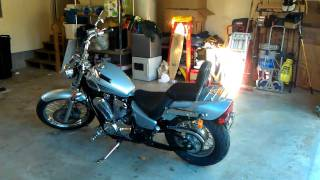 8. first bike 07' honda shadow vlx deluxe 600