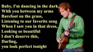 Video Perfect - Ed Sheeran [Lyrics] MP3, 3GP, MP4, WEBM, AVI, FLV Juli 2019