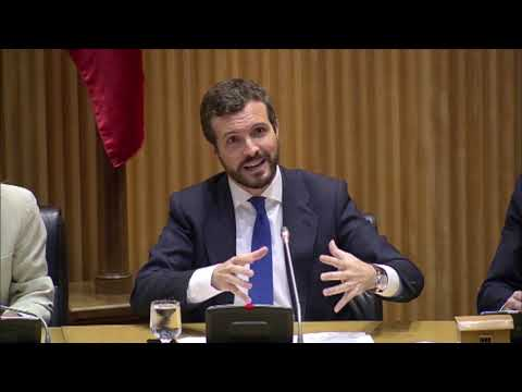 """Casado: """"El PP es, hoy por hoy, el único partido que tiene los dos pies en la Constitución"""""""