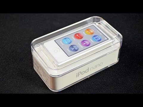 DetroitBORG - Unboxing and Review of the new iPod nano 7th Generation. $149 Apple: http://goo.gl/rPfdk EarPod Review: http://youtu.be/pNZ4-kWBt_c Specs: Capacity: 16GB Dis...