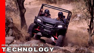 6. 2018 Honda Pioneer 1000 LE Technology
