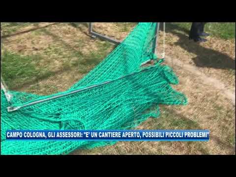 10/09/2020 - CAMPO COLOGNA, GLI ASSESSORI: 'E' UN CANTIERE APERTO, PICCOLI PROBLEMI POSSIBILI'