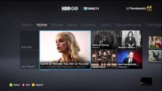 HBO Go on the Xbox 360 HBO Go, the service that brings HBO programming to users away from their TVs and cable boxes, is now available for the Xbox 360 ...