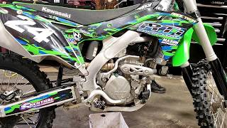9. Changing the oil ! -| 2017 Kawasaki KX250f | Step by Step Instructional
