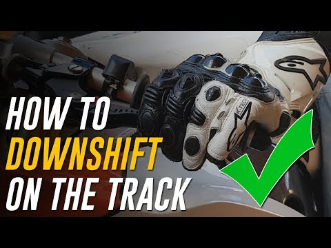 How to Downshift a Motorcycle on the Track: Slipping Technique