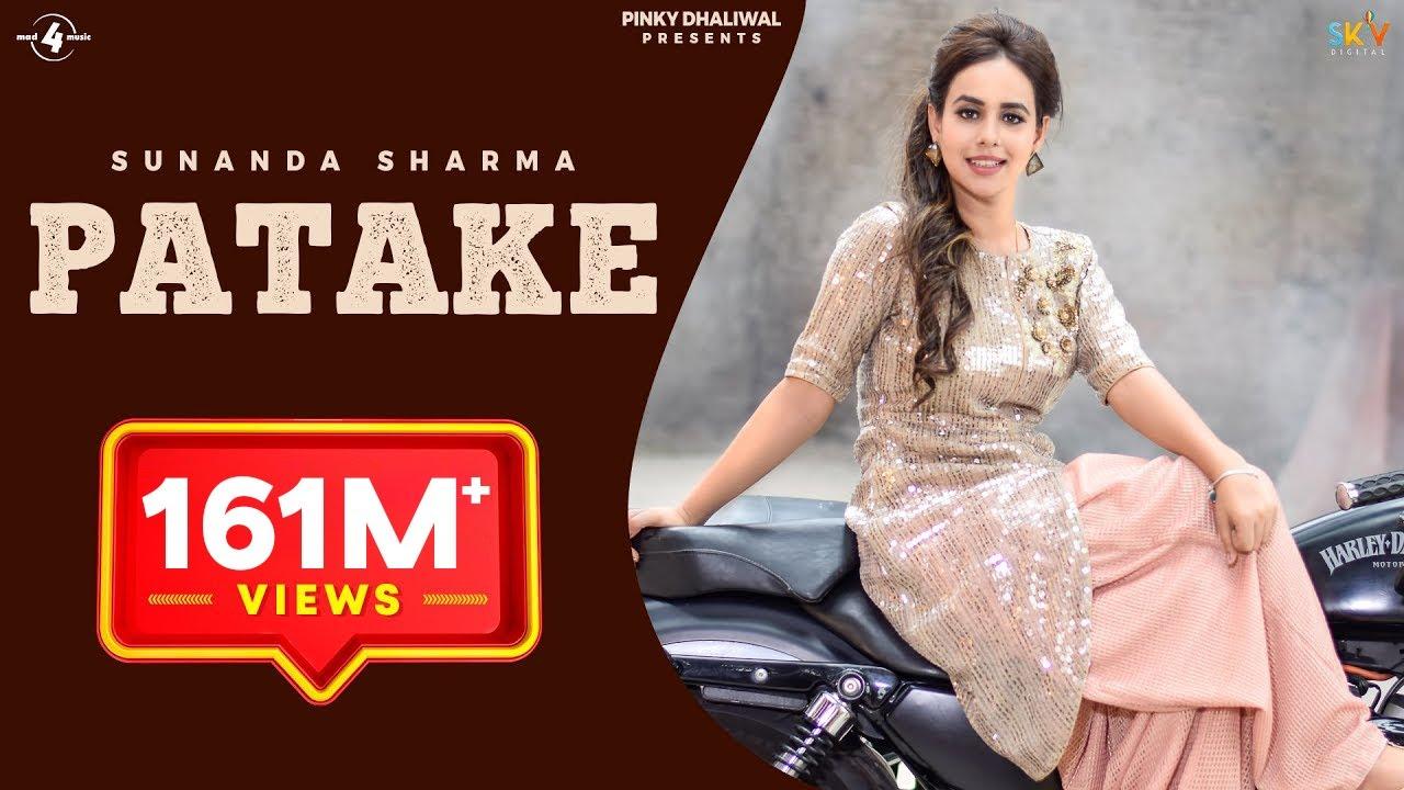 PATAKE (Full Video) || SUNANDA SHARMA || Latest Punjabi Songs 2016