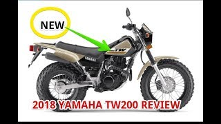 6. 2018 Yamaha TW200 Review