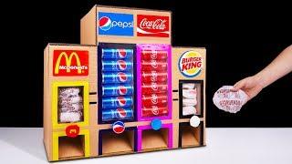 Video How to Make McDonald's Coca Cola Burger King and Pepsi Vending Machine MP3, 3GP, MP4, WEBM, AVI, FLV November 2018