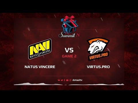 Natus Vincere против Virtus.pro, Вторая карта, Квалификация на Dota Summit 8