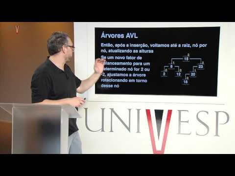 Estrutura de Dados - Aula 21 - Árvores AVL